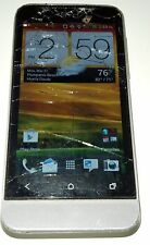 HTC One V 4GB Gray U.S. Cellular Android Smartphone Cracked Glass