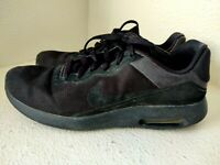 Nike Air Max Modern Essential Black Running Shoes US Mens Size 9.5 844874-006