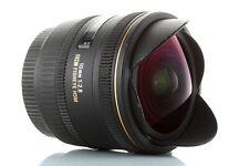 Objectif Sigma Fisheye 10mm F/2,8 EX DC HSM pour EOS 4000D 1300D 800D 80D 7D