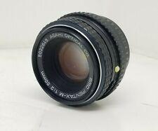 SMC Pentax-M 1:2 50mm Lens Asahi Optical Co. for K Mount