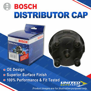 Bosch Distributor Cap for Ford Courier PC 2.6 4x4 Petrol Ute 1987-1992