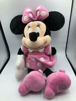 Official Disney Store Mickey Mouse Minnie Pink Plush Kids Stuffed Toy Animal