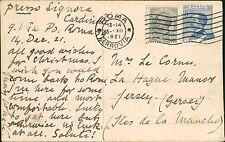 Anne L Le Cornu. La Hague Manor, Jersey, Channel Islands 1921     QS.1139