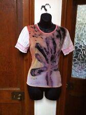Mesh Waist Length Crew Neck Tops & Shirts for Women