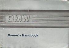 BMW 7-SERIES E32 730i 735i 735iL 750i 750iL ORIG.1987 OWNER INSTRUCTION HANDBOOK