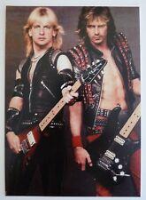 Judas Priest K.K. Downing Glenn Tipton 5x7 Live Promo Color Photo