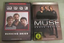 Coppia DVD Muse Burning Skies e Under Review limited edition
