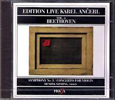 ANCERL: BEETHOVEN Symphony No.5 Violin Concerto SZERYNG CD Henryk Karel