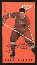Norm Ullman signed autograph auto Parkhurst Tall Boy Trading Card
