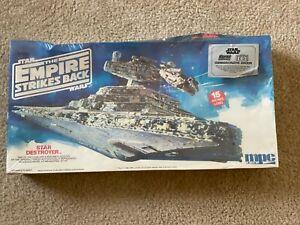 MPC ERTL Star Wars The Empire Strikes Back Star Destroyer Model Kit
