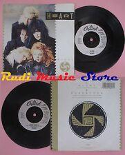 LP 45 7'' HEART Alone Barracuda 1987 CAPITOL CL 448 no cd mc dvd