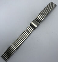 NSA vintage watch bracelet satin steel 15.8 mm Swiss Made