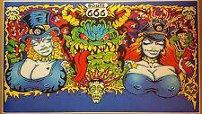 "White Zombie GIANT WIDE 42"" x 24"" La Sexorcisto Metal Band Poster Bar Rob Zombie"
