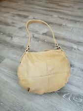 Camel Leather Bag, Casual Woman Hobo Purse, Handmade Handbags and Purses, Aida