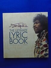 JIMI HENDRIX THE ULTIMATE LYRIC BOOK ~ 292 PAGE HARDCOVER AWESOME BOOK LAST ONE!