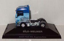 "Herpa MAN TGX XXL Zugmaschine ""Melmer"", PC (A) 1:87 in PC+OVP"