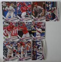 2017 Topps Series 2 Philadelphia Phillies Team Set of 10 Baseball Cards