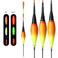 Smart LED Light Luminous Smart Night Fishing Float Bite Alarm Squid Stick Bobber