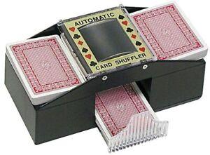 CHH Automatic Card Shuffler, Black