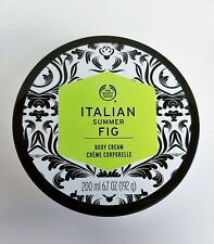 The Body Shop Body Cream Italian Summer Fig