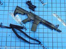 Verycool 1:6 VCF-2021B Black Female Shooter figure - MK18 Rifle + ACOG + String