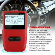 Universal OBD2 Auto Scanner Code Reader EOBD Car Diagnostic Tool Engine Light
