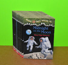 MAGIC TREE HOUSE #8 - LOT OF 9 - Midnight on the Moon TEACHER CLASSROOM Books