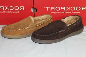 Rockport Premium Indoor Outdoor Slippers Loafers Men's Tan 11