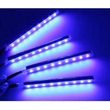 USB 12V 9 LED Car Interior Footwell Atmosphere Lights Strip Blue Color Lamp