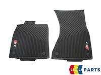 Neu Original Audi S7 Sportback 13-18 Vorne Schwarz Gummi Allwetter Fußmatten LH