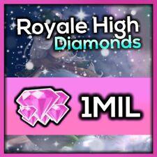 1 Million Royale High Diamonds (Roblox) Virtual Currency, *Read Description💎*