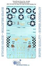 1:48 Curtiss P-40N/M Warhawks FS FG 48 15 44 18 8 49 SuperScale Decals Set 889