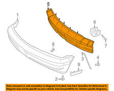 GM OEM Front Bumper-Impact Bar Reinforcement Beam Support Rebar 15677873