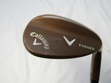 Callaway Forged Copper 64° Lob Wedge - Stock Wedge flex Steel Used RH