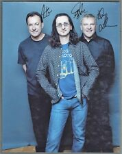RUSH Signed Photograph - Rock Musicians / Band - preprint