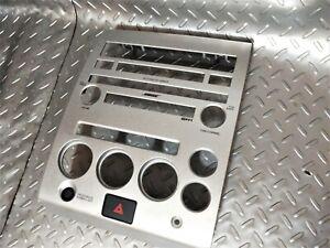 04-07 OEM Nissan Armada Titan Factory Front Dash audio climate Trim Bezel Unit