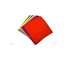 Wool Blend Felt Squares  Assorted pack of 12 colours Various sizes available.
