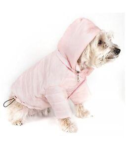"PET LIFE Lightweight Adjustable Sporty Avalanche Dog Coat Sz L (18-20"") - Pink"
