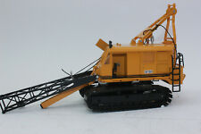 Sale nzg 596 Weserhütte W180 Crawler Crane With Rammer 1:50 New IN Boxed