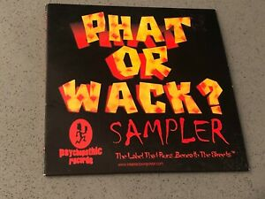Insane Clown Posse Twiztid - Phat or Wack CD 1st Press PROMO Sampler icp