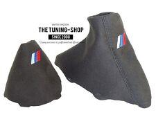 Per BMW 3 E90 E91 E92 E93 Automatico Cuffia Leva Cambio E Freno Suede M3 Ricamo