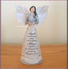 IN MEMORY ANGEL RELEASING BUTTERFLY FIGURINE BY PAVILION ELEMENTS FREE U.S. SHIP