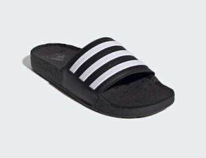 Adidas Adilette Boost Slides Black UK8 - I Would Advise To Purchase A Size Up