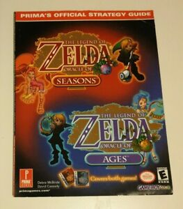 Legend Of Zelda: Oracle Of Seasons, Oracle Of Ages Strategy Guide (Prima, 2001)