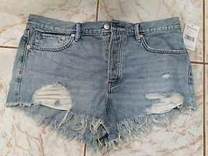 Free People Somerset Jean Shorts NEW NWT Size 31