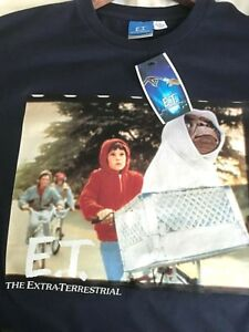 NEW Retro Vintage Style Official Licensed T Shirt ET E.T. Extra Terrestrial