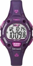 "Timex T5K756, Women's ""Ironman "" 30-Lap Resin Watch, Chronograph, Alarm, Indiglo"