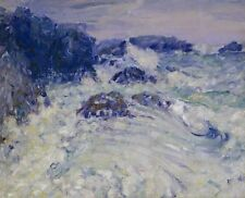 """Oil Painting repro John Peter Russell Rauhe See 20""""x24"""""""