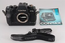 Near Mint+++ Contax RTS III 35mm SLR Film Camera Body with Strap From Japan 203