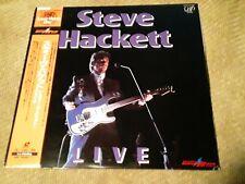 Steve Hackett Live Laserdisc Disc Made in Japan